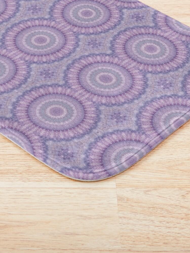 Alternate view of Lilac Kaleidoscope Bath Mat