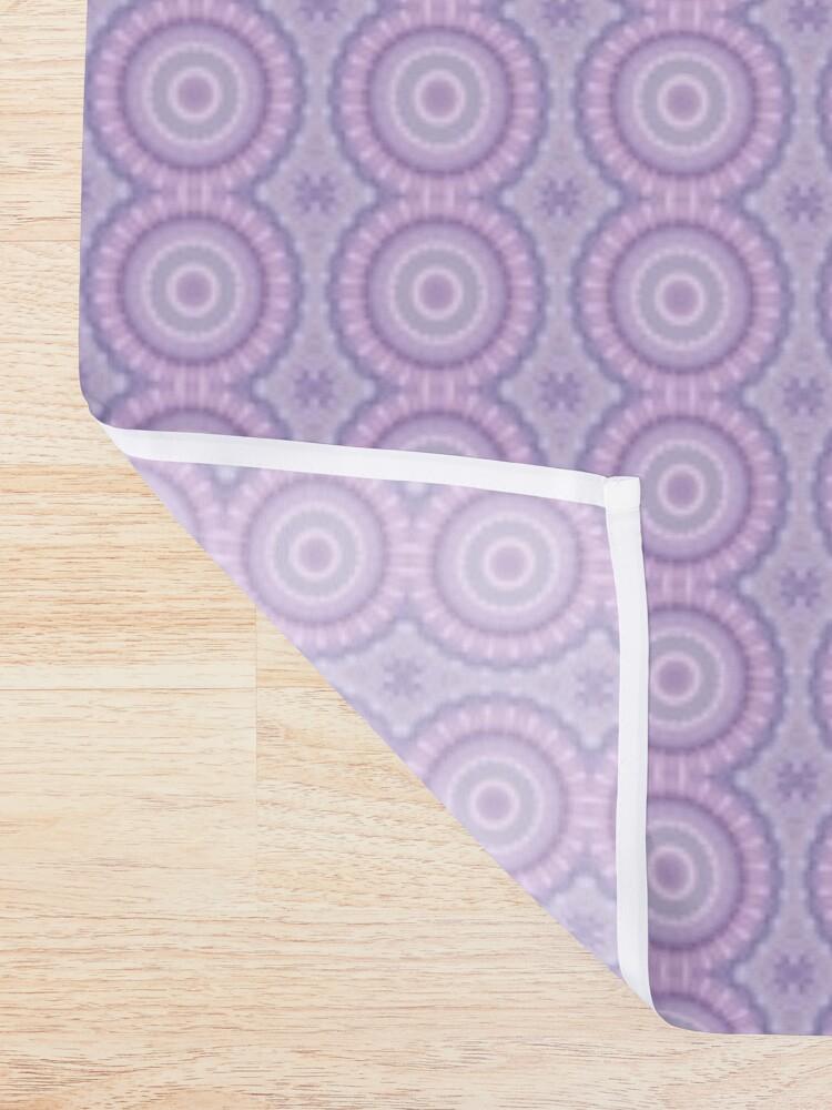 Alternate view of Lilac Kaleidoscope Shower Curtain