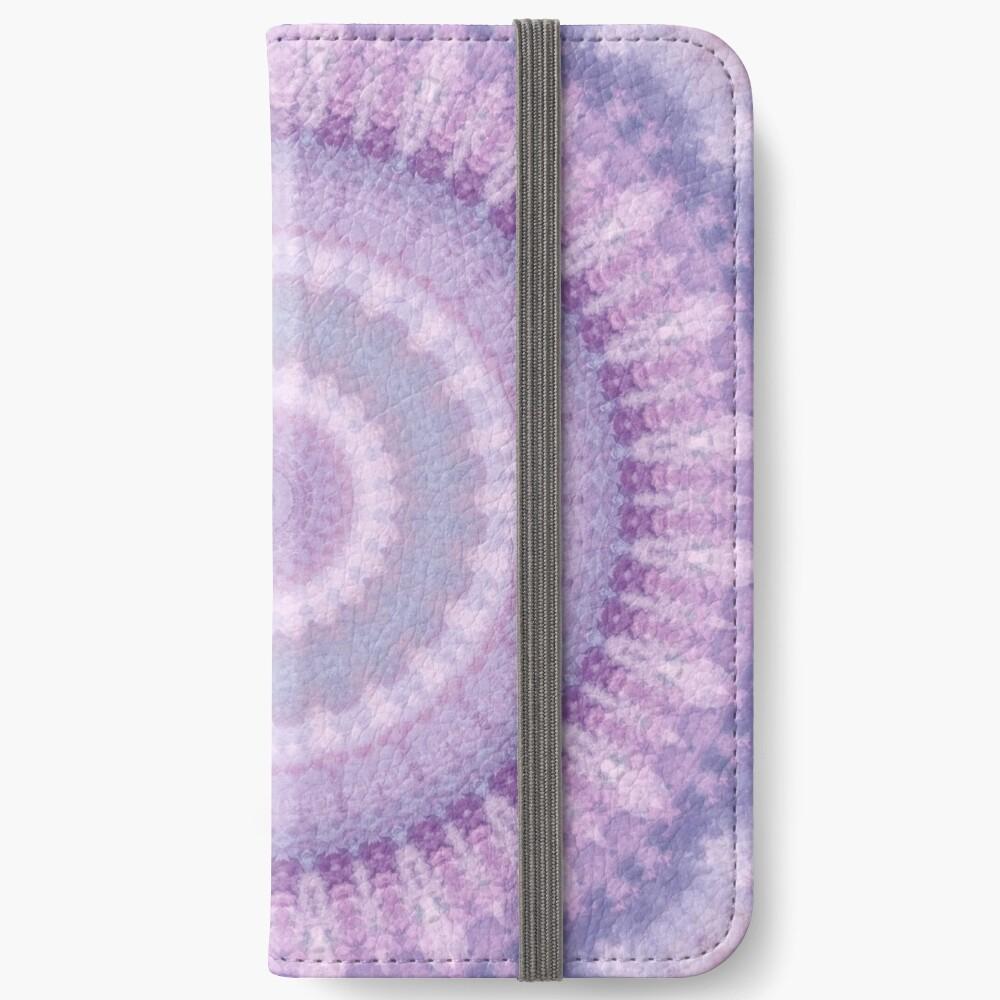 Lilac Kaleidoscope iPhone Wallet