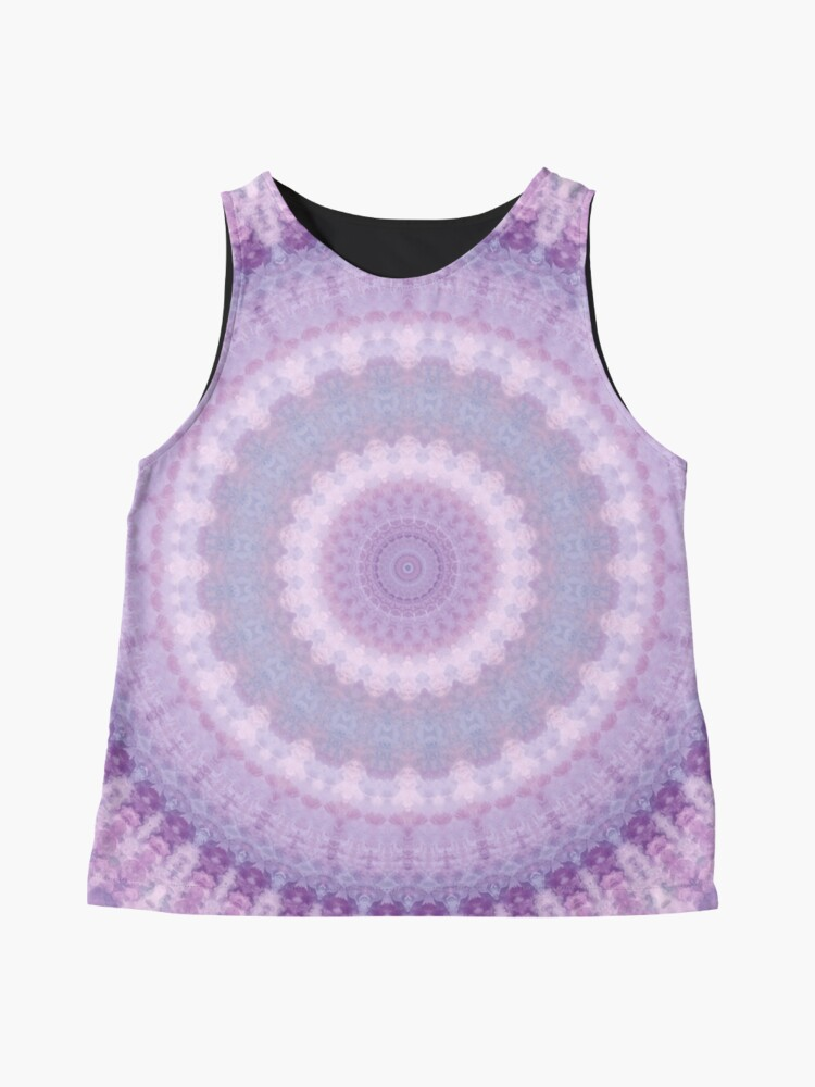 Alternate view of Lilac Kaleidoscope Sleeveless Top