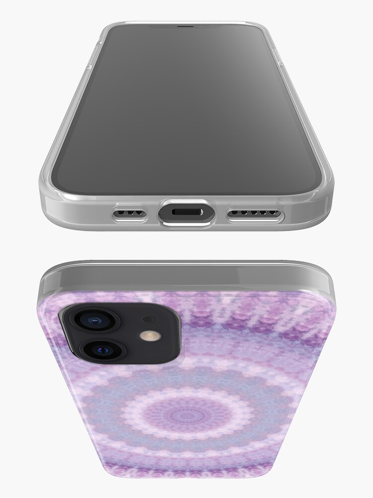Alternate view of Lilac Kaleidoscope iPhone Case & Cover