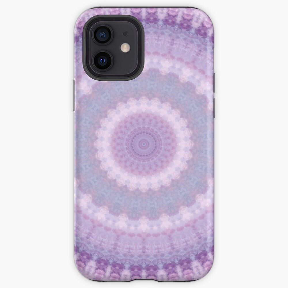 Lilac Kaleidoscope iPhone Case & Cover