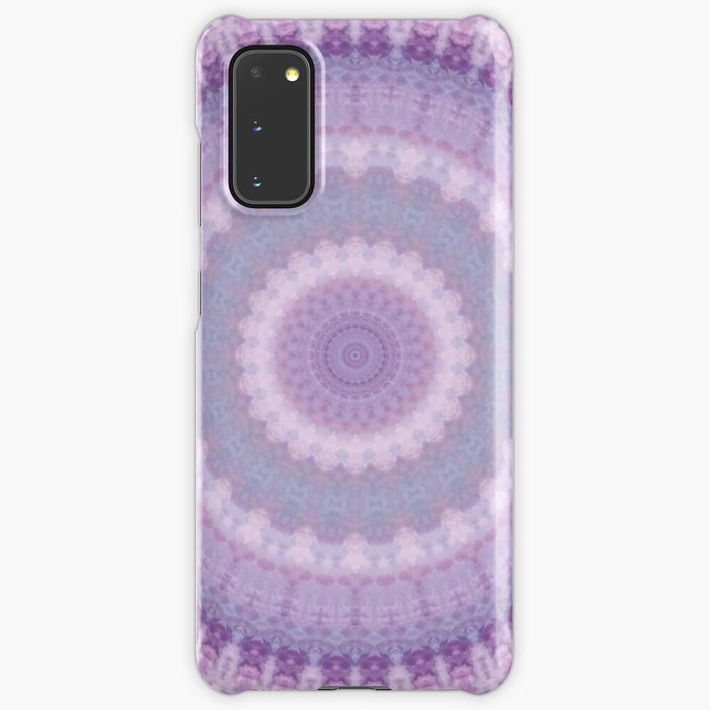 Lilac Kaleidoscope Case & Skin for Samsung Galaxy
