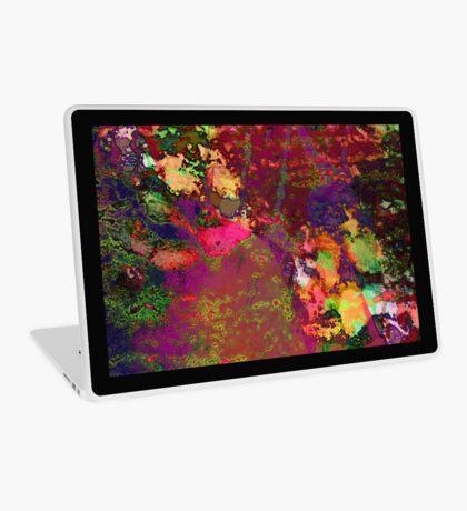Paw Prints Paint Splash Laptop Skin