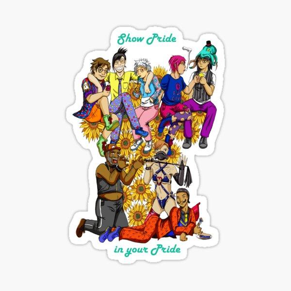 Pride in Your Pride Sticker