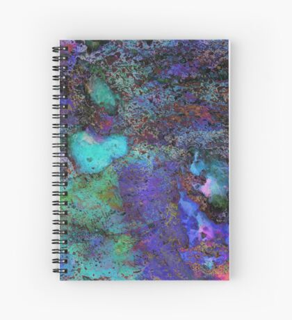 Paw Prints Soft Colours Spiral Notebook