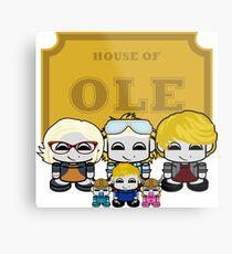 O'BABYBOT: House of Ole Family Metal Print