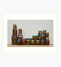 Home Made Olives Collection  Art Print