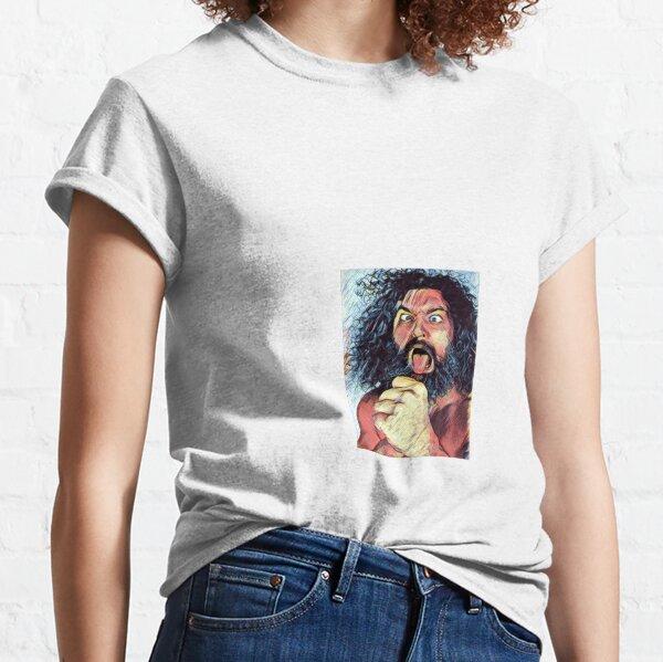 BRUISER BRODY Frank goodish Wrestling legend art artwork design print tribute shirt Classic T-Shirt
