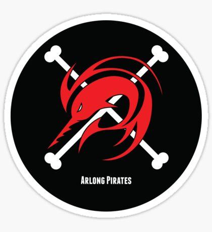 Arlong pirates logo sticker sticker