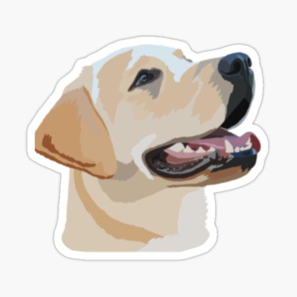 Golden Labrador Sticker