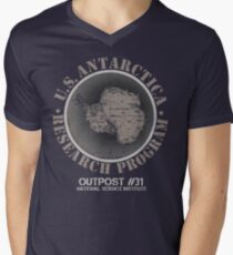 OUTPOST 31! Men's V-Neck T-Shirt