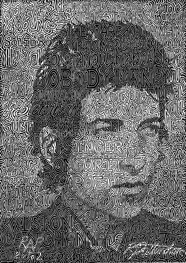 Bob Dylan - Singer, songwriter, poet.   (2002) by Richard Pattenden