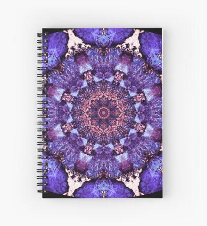 Barnie Paw Prints Kaleidescope 13 Spiral Notebook