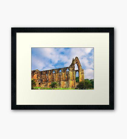Bolton Abbey North Yorkshire Framed Print