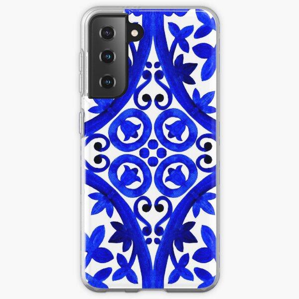 Portuguese azulejo tiles. Samsung Galaxy Soft Case