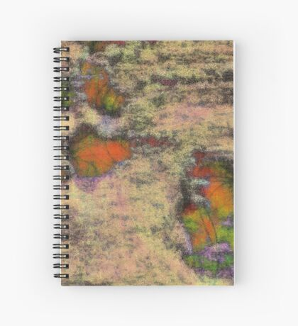 Paw Prints as Butterflies Spiral Notebook