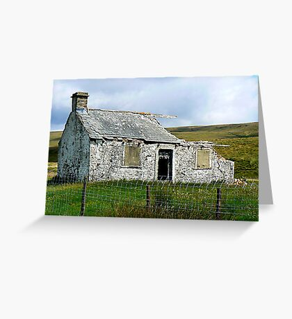 Ruin in the Dales Greeting Card