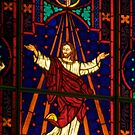stained glass by Mark de Jong