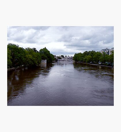 River Ouse in Flood -York Photographic Print