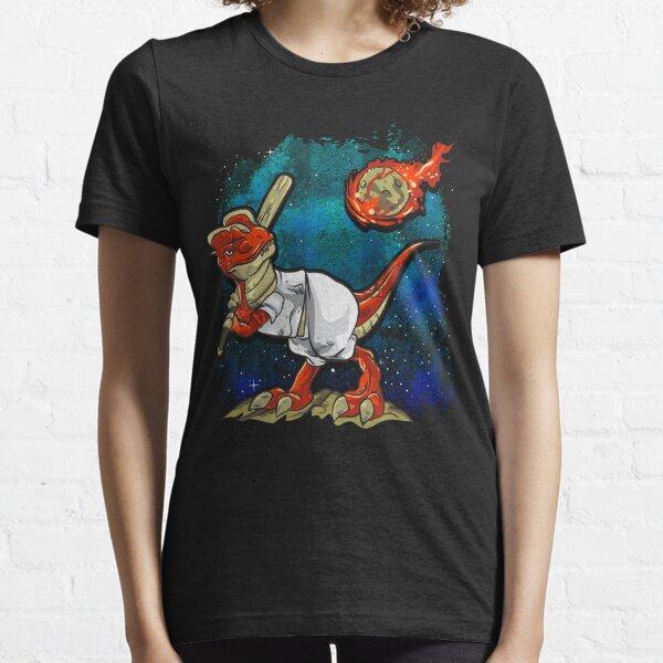 Dinosaur Asteroid Day Extinction Baseball T Rex Meteorite Essential T-Shirt