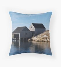Peggy's Cove Inlet 2 Throw Pillow