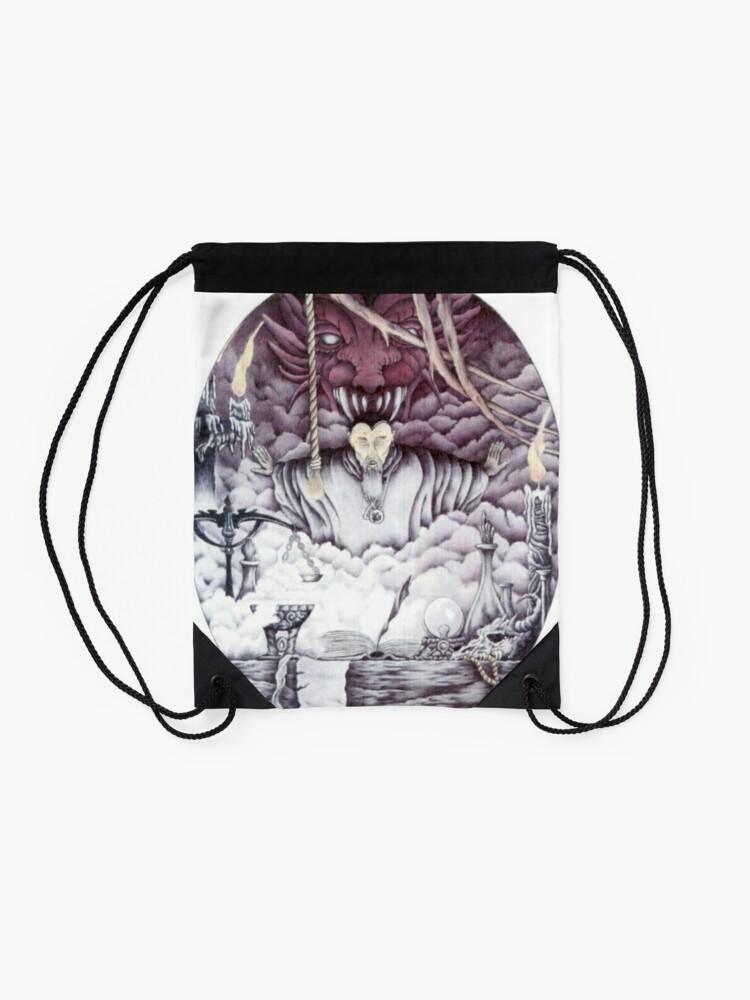 Alternate view of  Warlock. Drawstring Bag