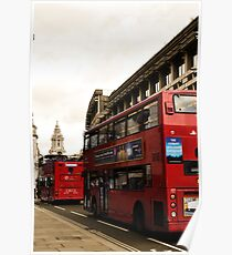 London Buses  Poster