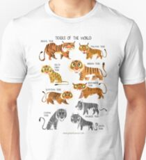 Tigers of the World T-Shirt