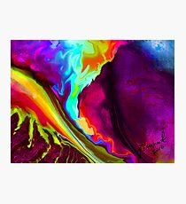 Lava Rush Photographic Print
