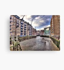 London docks Canvas Print