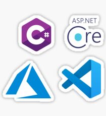 ASP.NET Core Development Combo Pack Sticker