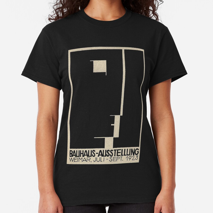 Bauhaus Logo on 1923 Weimar Advertisement Classic T-Shirt
