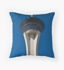 Stratosphere Hotel and Casino in Las Vegas, Nevada Throw Pillow