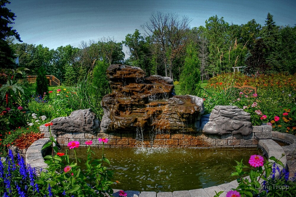 Gardens at the Gates by Larry Trupp