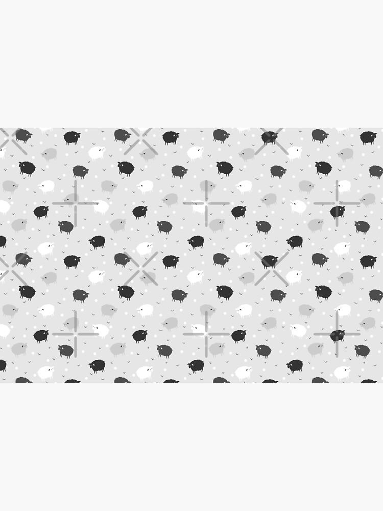 Сount Sheeps Away Pattern by runcatrun