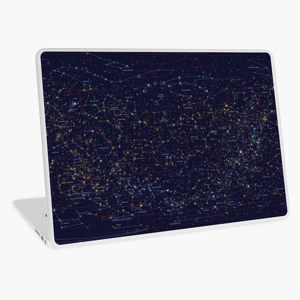 All the stars you can see from Earth Laptop Skin