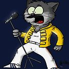« Chat Freddy Mercury » par nawak