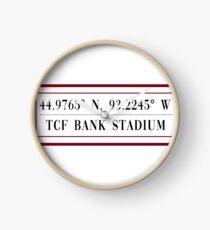 TCF Bank Stadium Clock