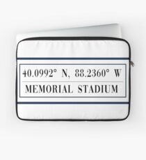 Memorial Stadium Laptop Sleeve