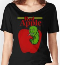 RED APPLE Women's Relaxed Fit T-Shirt