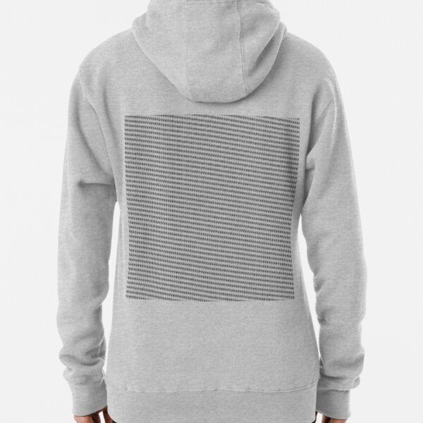 #Pattern, #design, #abstract, #textile, fiber, net, aluminum, grid, cotton, gray Pullover Hoodie