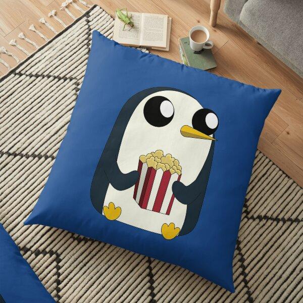 Gunter loves popcorn! Floor Pillow