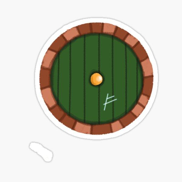 Un trou dans le sol V2 Sticker
