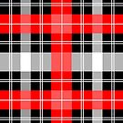 Red and Black Plaid by ragtagart