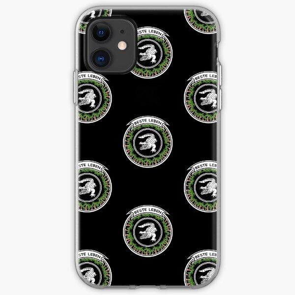 Beste Leben Croco Design iPhone Soft Case