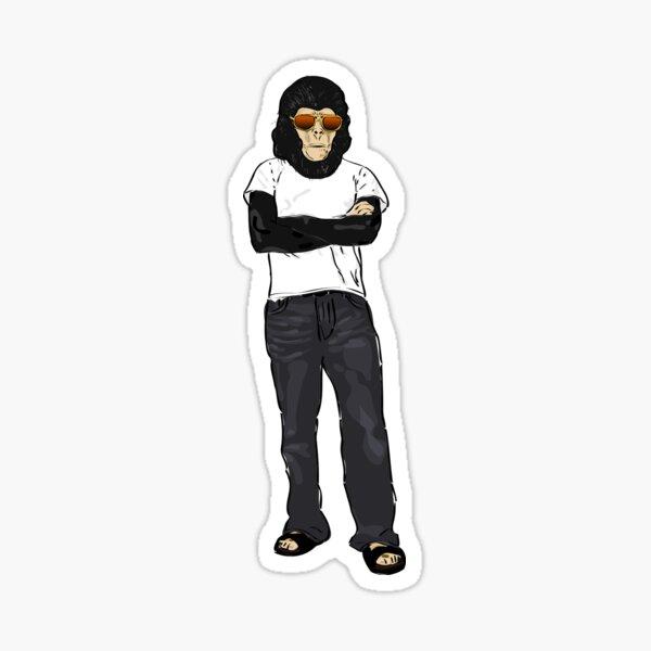 Cool Ape Sticker