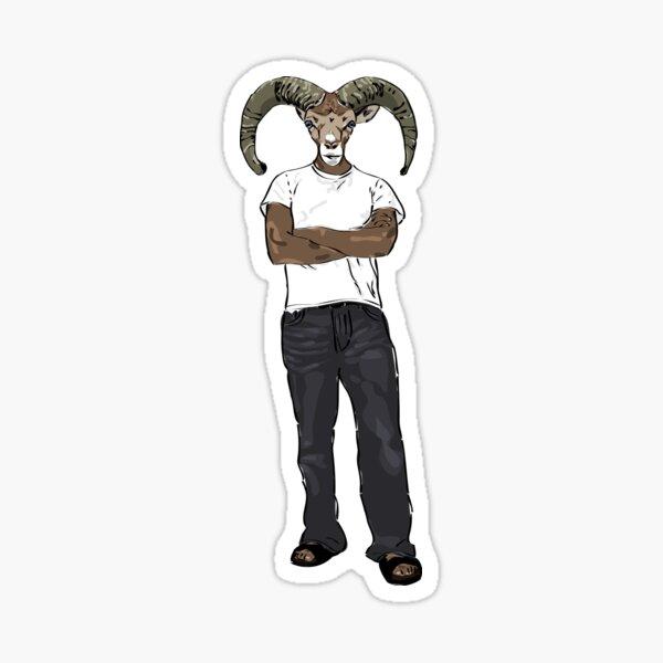Goat Man Sticker