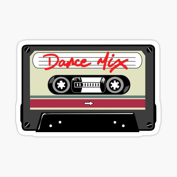 Dance Mix Tape Sticker