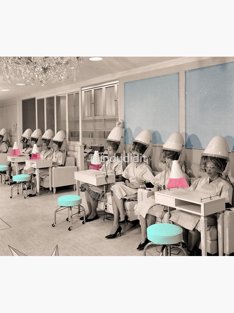 Vintage Hair Salon Ladies by mindydidit